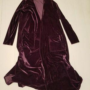 Small purple velvet lularoe Sarah